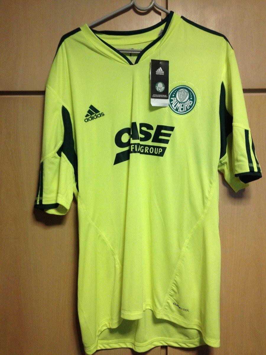 camisa palmeiras adidas verde limão - gg. Carregando zoom. 6e32000c970a5
