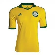 a5fe7abd61 Camisa Palmeiras Amarela adidas Copa 2014 - R  159