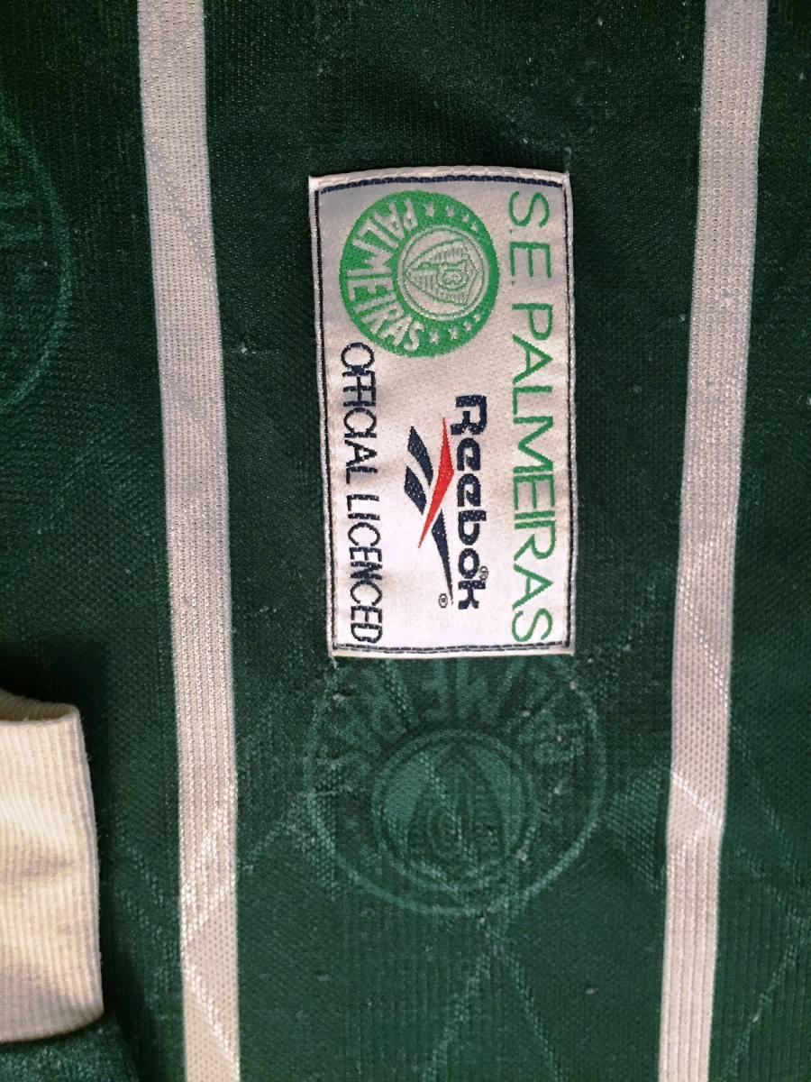 6b324082c6 Carregando zoom... palmeiras brasileiro camisa. Carregando zoom... camisa  palmeiras usada em jogo brasileiro 1996 mangas longas