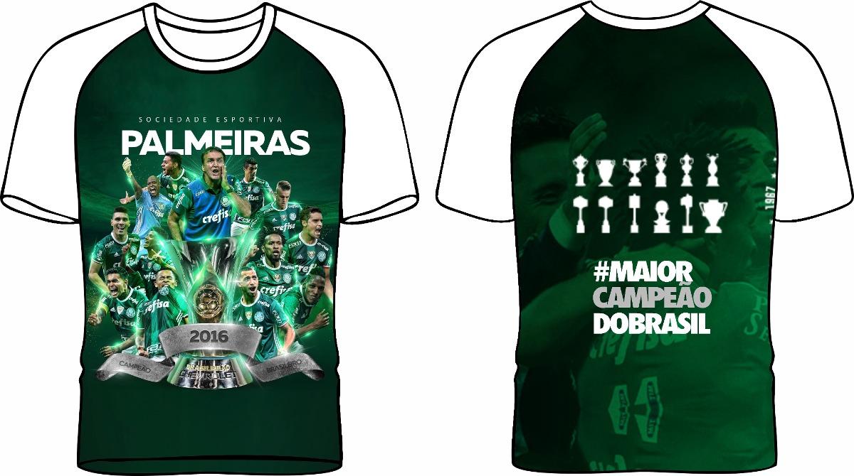 510dff584d camisa palmeiras campeão brasileiro 2016  omaiorcampeao. Carregando zoom.
