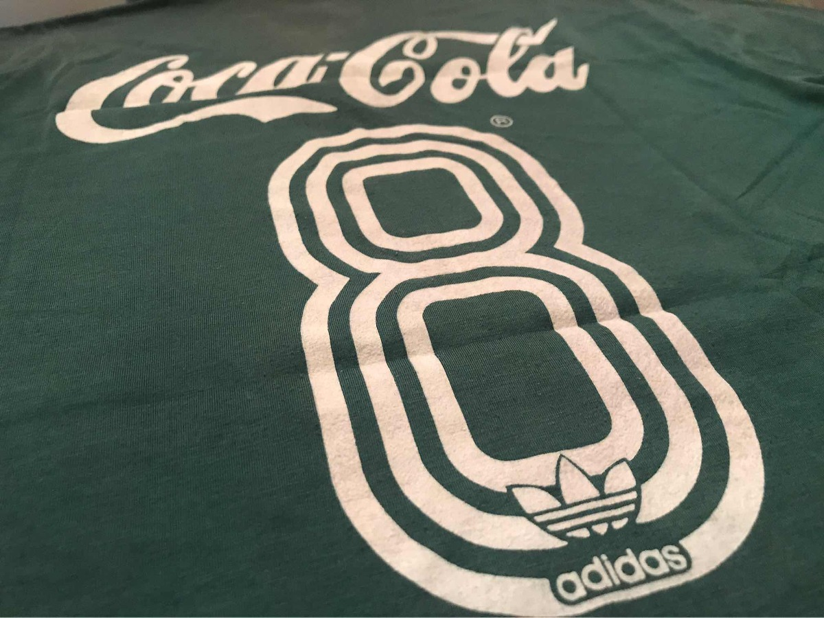 4d390f5f03 camisa palmeiras coca cola 1989 original! usada em jogo  8 g. Carregando  zoom.
