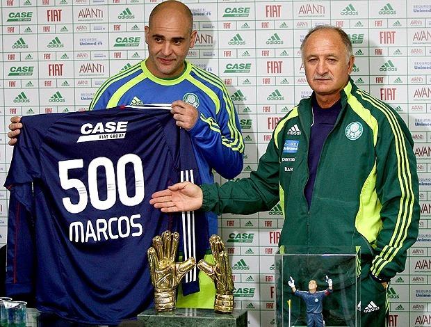 a59633606 Camisa Palmeiras Comemorativa 500 Jogos Do Goleiro Marcos - R  1.190 ...