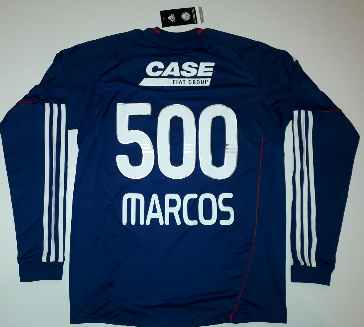 701897f55 camisa palmeiras comemorativa dos 500 jogos goleiro marcos. Carregando zoom.