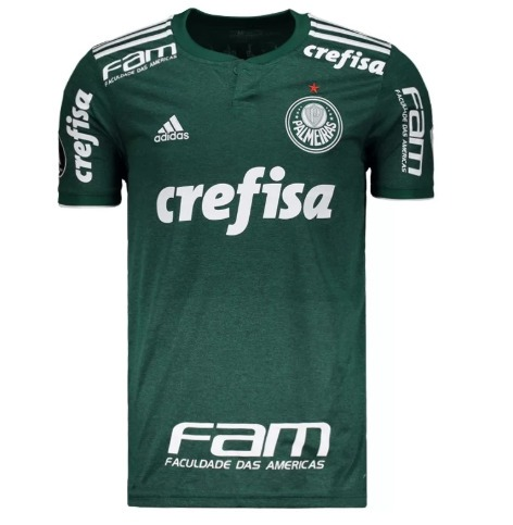 Camisa Palmeiras Crefisa adidas 2018 2019 - Frete Gratis - R  180 c35227bb6618c
