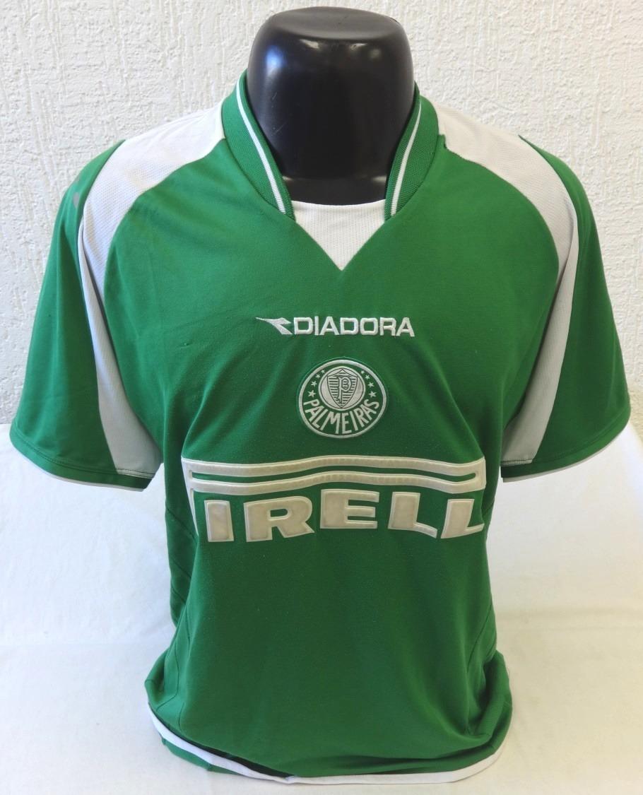 camisa palmeiras diadora 2003 2004 - pirelli - original. Carregando zoom. 83b473782b294