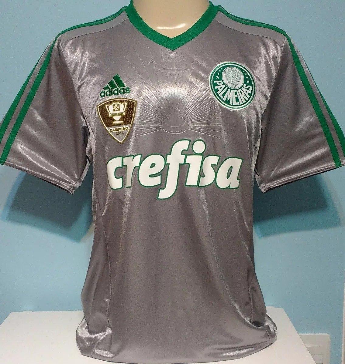 camisa palmeiras dudu adidas patch campeão copa brasil. Carregando zoom. 4922fdeec4b9f