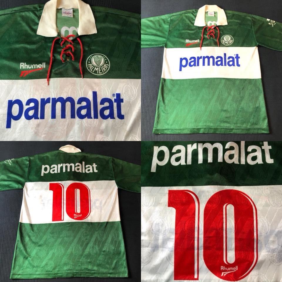 Camisa Palmeiras Euro América 1996  10 Tam G( 76x56) - R  250 67bd3cfbc6987