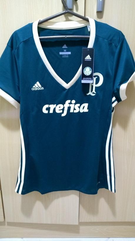 0c3f1ef8535bd Camisa Palmeiras Feminina 3 Oficial - R  159