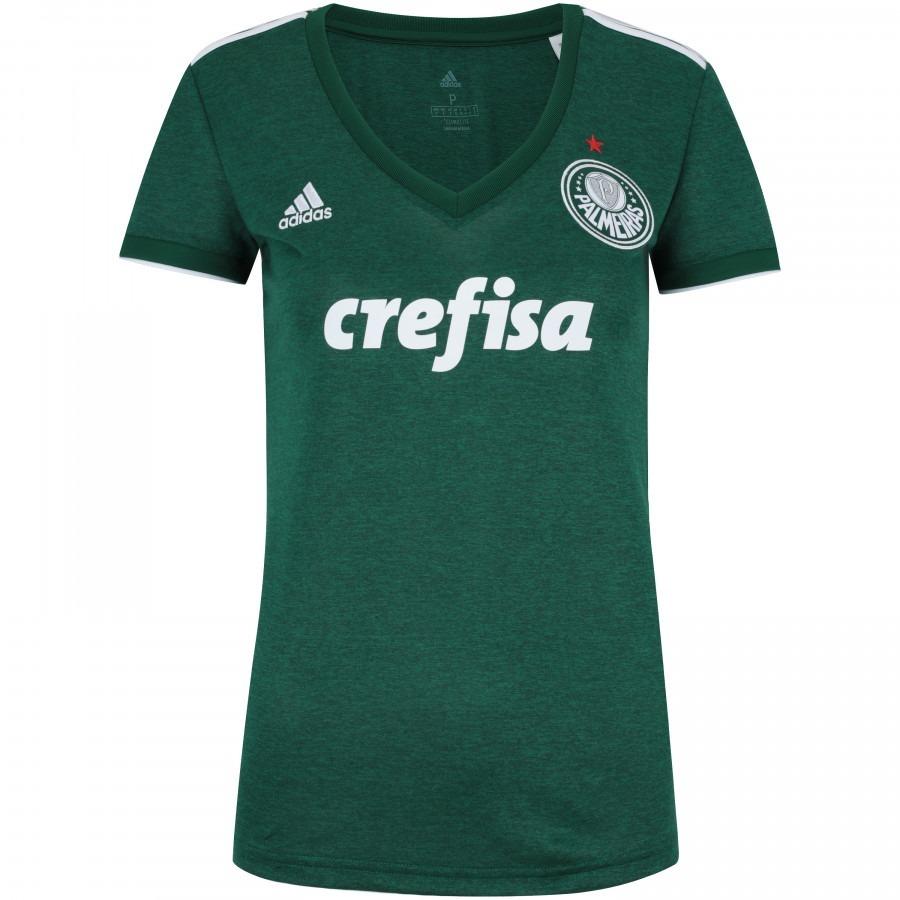 Camisa Do Palmeiras Feminina Baby Look Mulher Nova Modelos - R  129 ... 67bdfe2dd2838