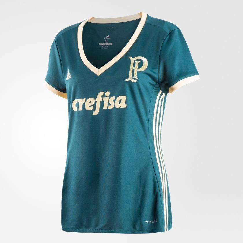 ad9bda7dce58f camisa palmeiras feminina uniforme 3. Carregando zoom.