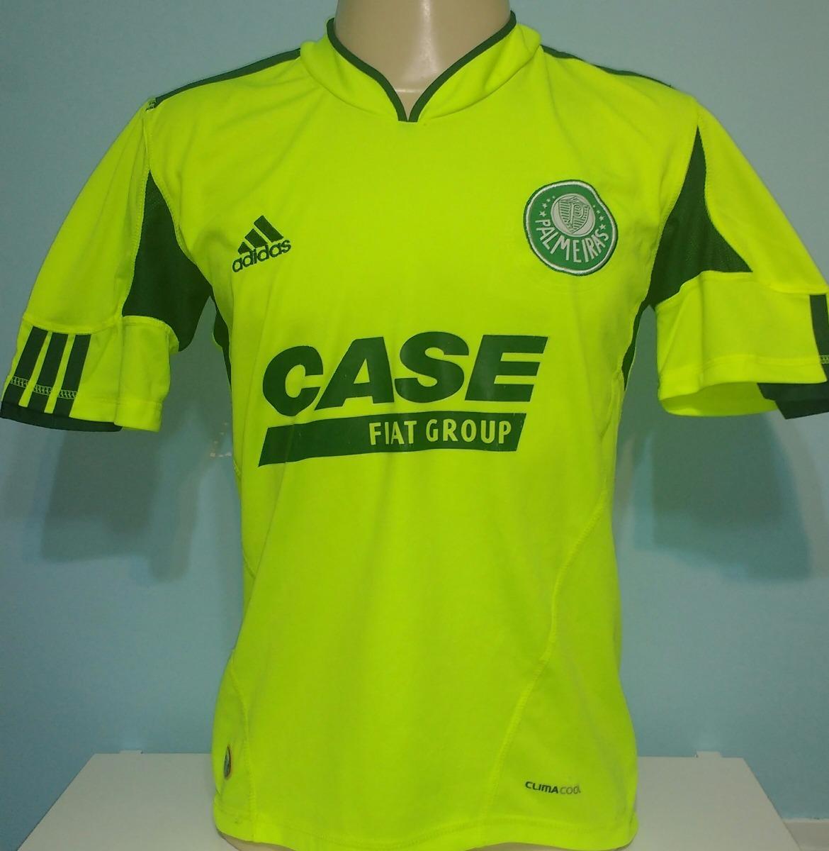 camisa palmeiras fiat adidas verde limão - 38. Carregando zoom. 9bd5a8ec59db8