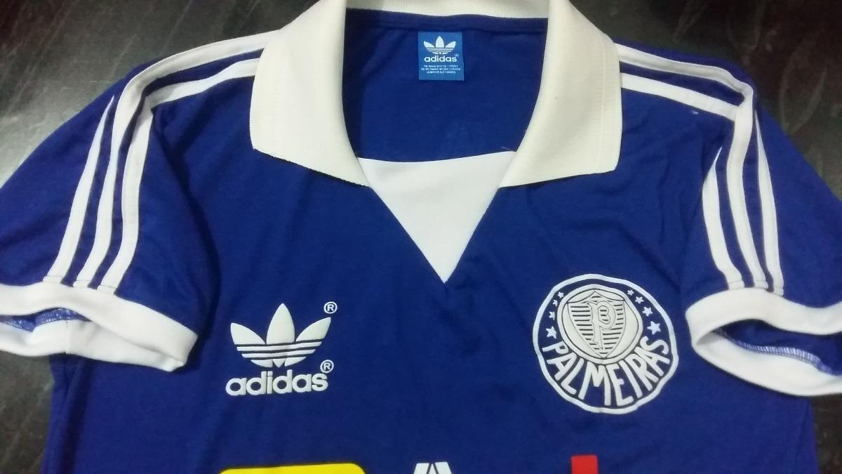 camisa palmeiras gk curta agip - liga retrô sports. Carregando zoom. 8602d0f1b3b62