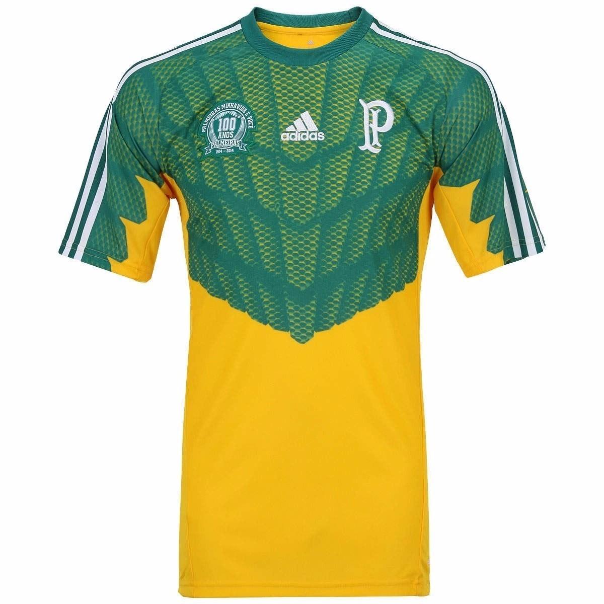 5f3bc5a0ed camisa palmeiras goleiro 2014 - centenário - frete grátis. Carregando zoom.