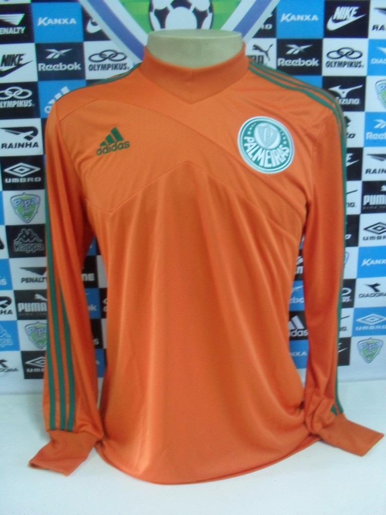 24fd8c7953ff2 camisa palmeiras goleiro laranja tam. g original adidas nova. Carregando  zoom.