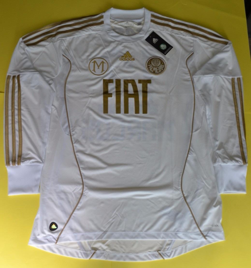cced370b2 camisa palmeiras goleiro marcos branca e dourada tam gg. Carregando zoom.