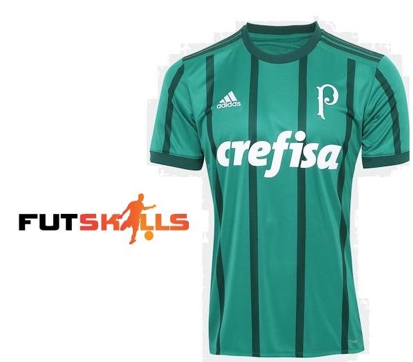 Camisa Palmeiras I 17 18 S nº Torcedor adidas Masculina - R  170 2da55bdd3daf7