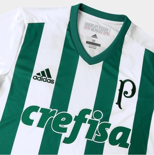 Camisa Palmeiras Ii 17 18 S nº Torcedor adidas Masculina - B - R ... 087e8622de1be
