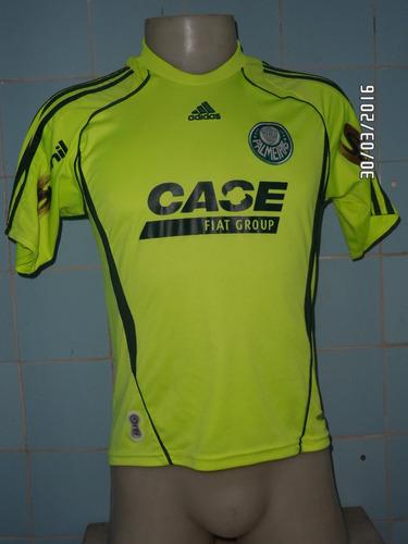camisa palmeiras infantil verde limão