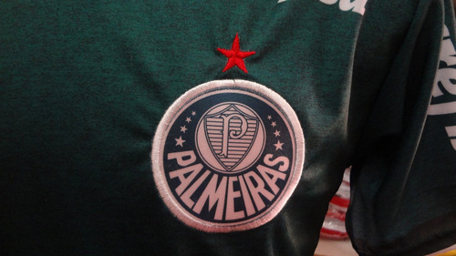 camisa palmeiras libertadores com estrela do mundial de 1951