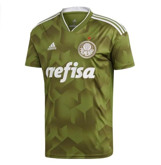 Camisa Palmeiras Modelo 2018 2019-frete Grátis Promoção Free - R ... b99894d45d255