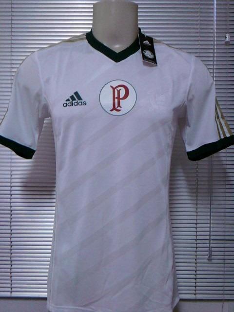 3178542ed6 Camisa Palmeiras Oficial 2 adidas Climacool - 2014   2015 - R  139 ...