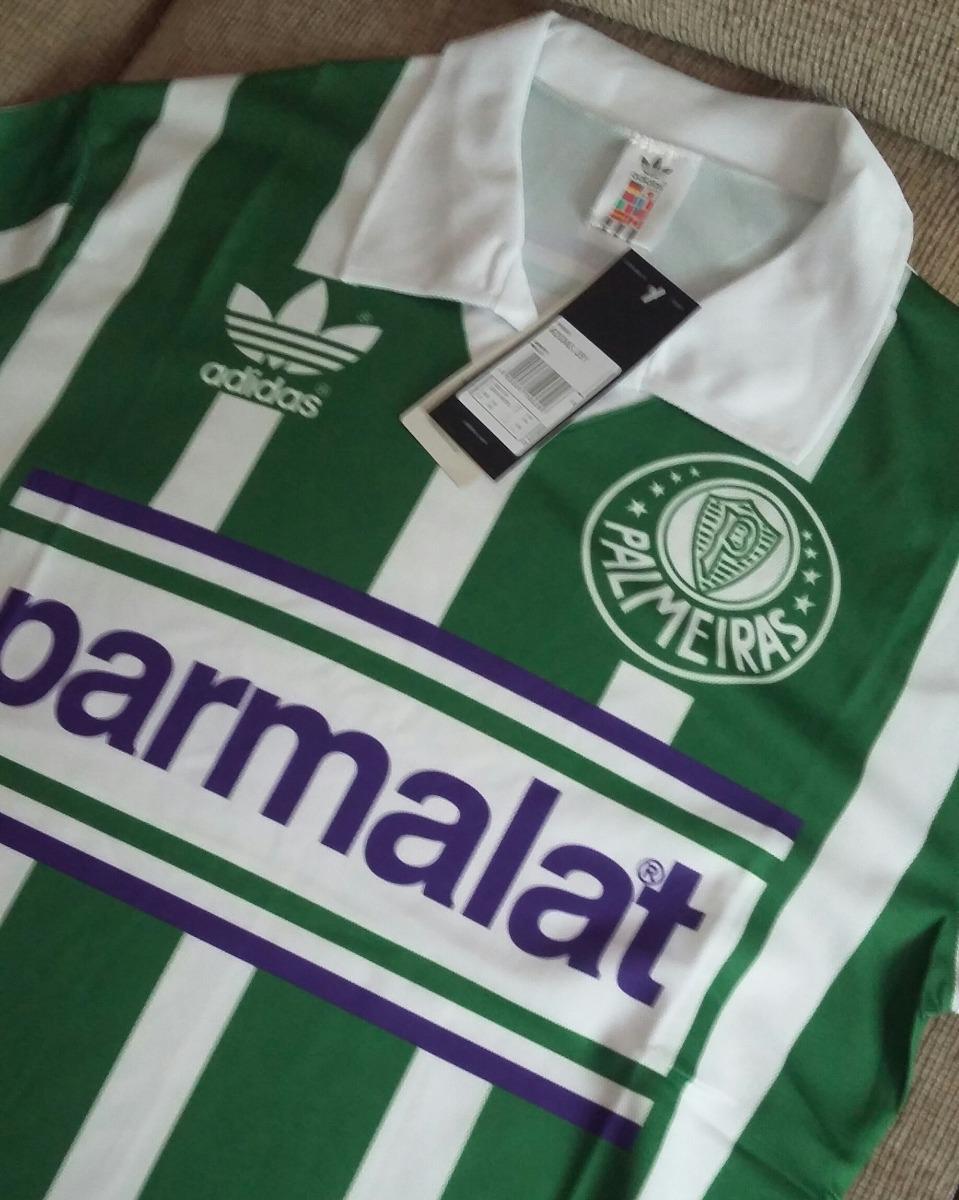 camisa palmeiras palmalat 1992 - adidas. Carregando zoom. 2d405a874027b
