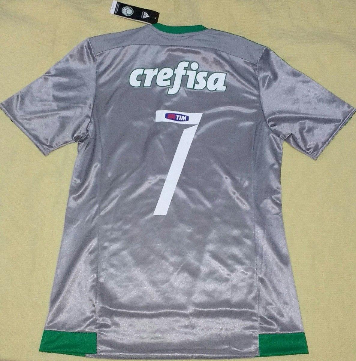 99ee7f552f0c9 Camisa Palmeiras Patch Campeão Copa Do Brasil adidas - R  239