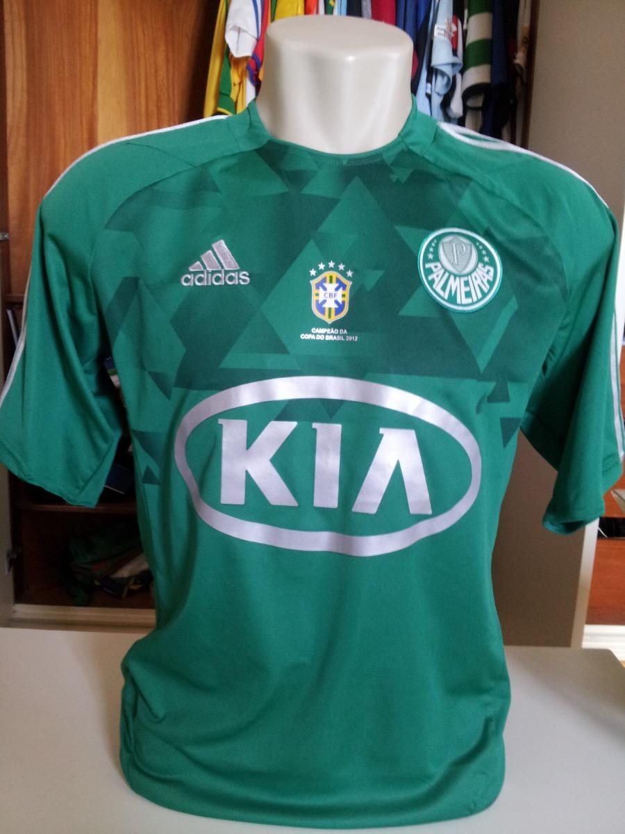 Camisa Palmeiras Patch Copa Do Brasil 2012  3 Henrique - R  250 2630bf5c5bd04