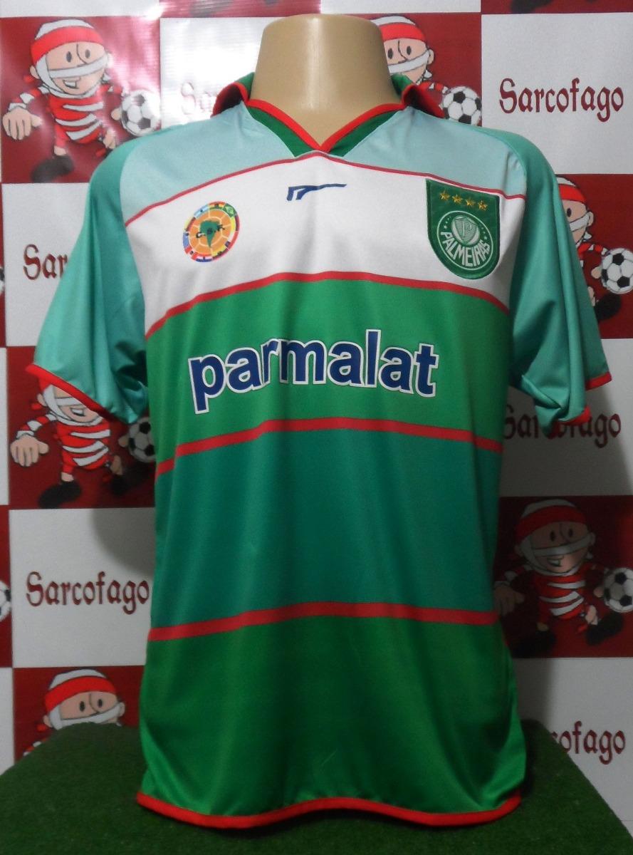 2e0fe18921942 Camisa Palmeiras Retro Campeão Copa Rio Sp 2000 - R  80