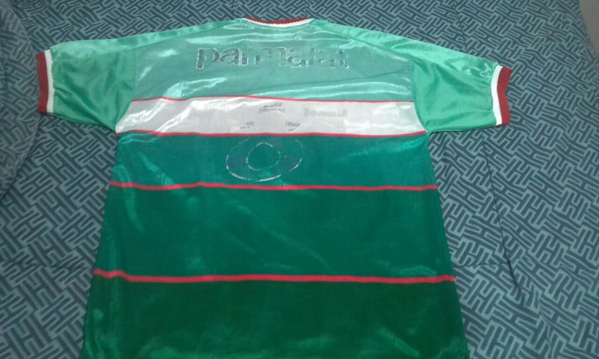 ... Parmalat 53a57f0ec7eec9  camisa palmeiras rhumell original mercosul  2000 - tam. gg. Carregando zoom. b07102a2b7b5cc ... 81fa0469127b7
