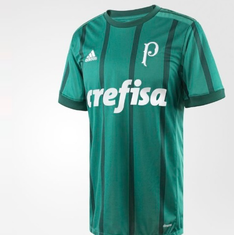 0e3463764c420 Camisa adidas Palmeiras Away S nº 2017 -2018 Oficial E Sport - R ...