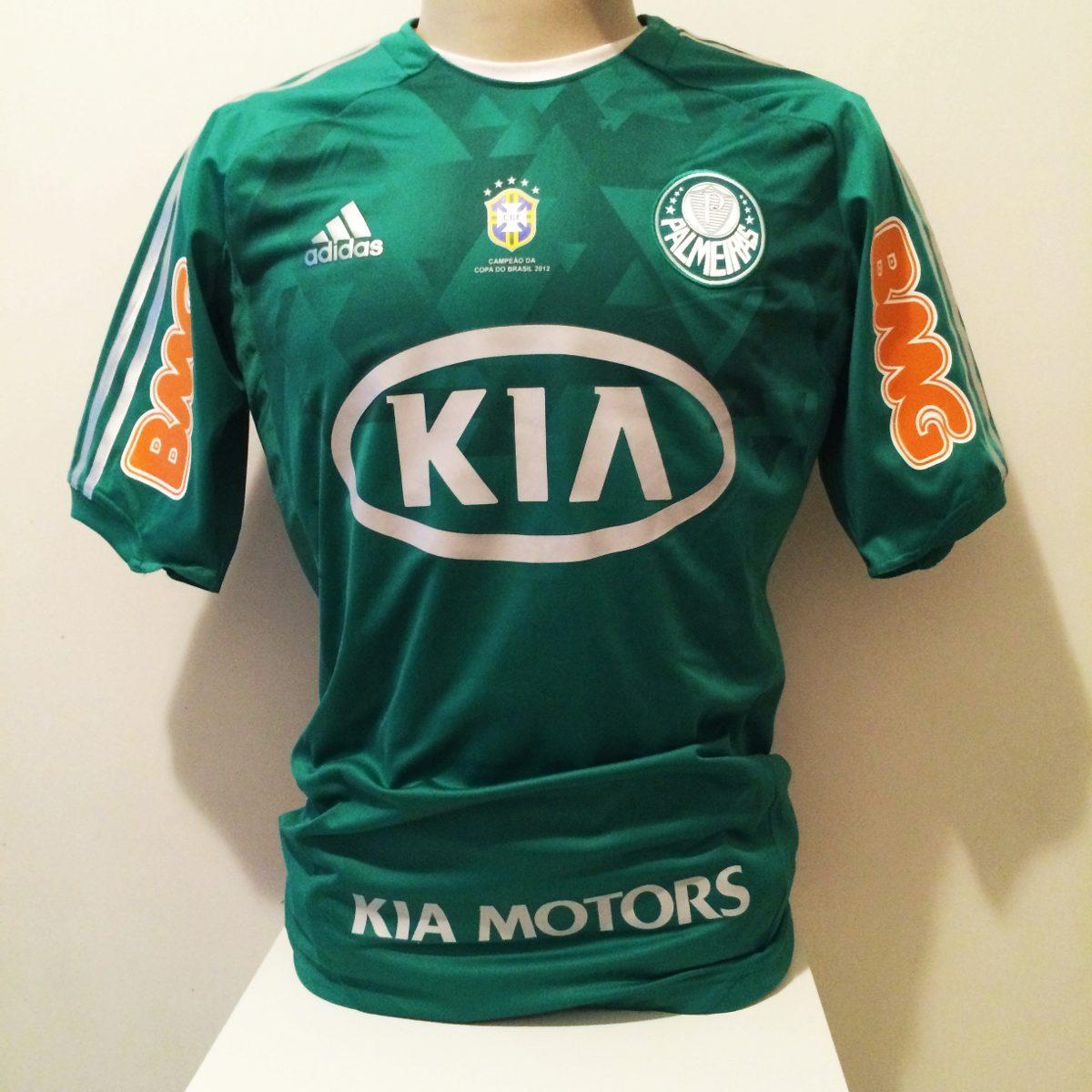 camisa palmeiras techfit usada em jogo copa do brasil 2012. Carregando zoom. 95e561fa7616f