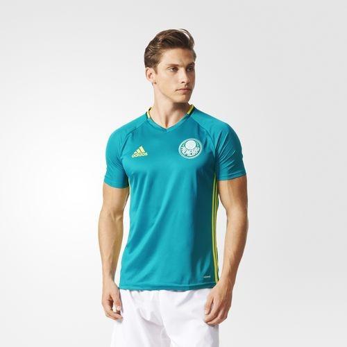 c7421faff2baa Camisa Palmeiras Treino Verde adidas Oficial - Ab8178 - R$ 169,90 em ...