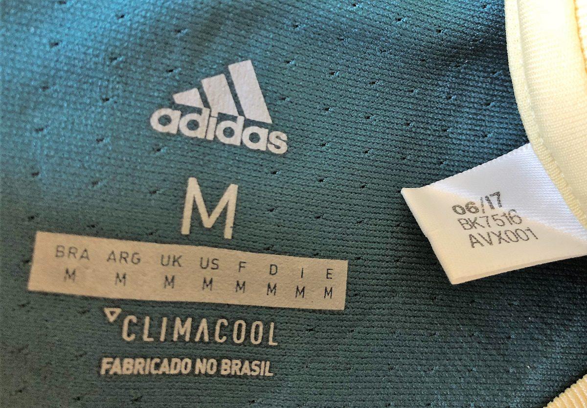 68ea6bc714 camisa palmeiras usada jogo 2018 uniforme 3 keno  11. Carregando zoom.