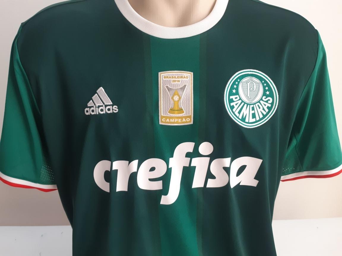 5efdb6c3df9c2 Camisa Palmeiras Verde Gg