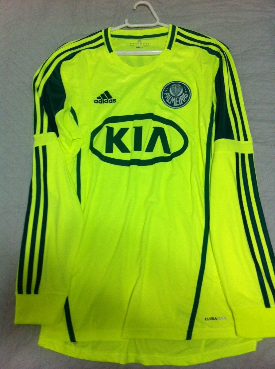2ccc7ffdadded Camisa Palmeiras Verde Limão