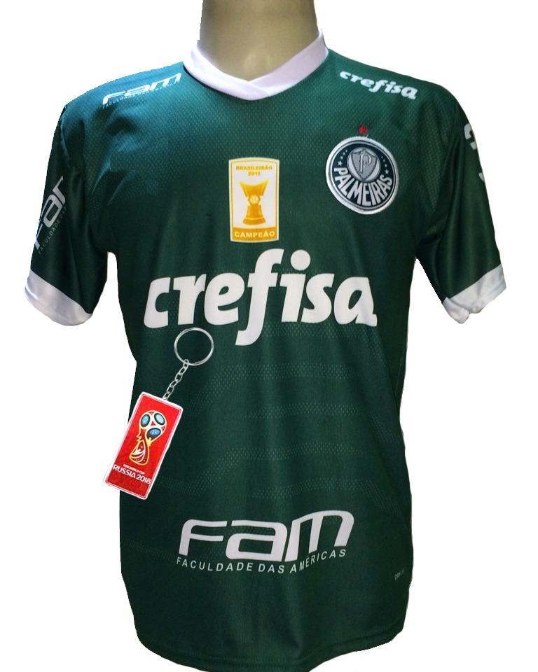 Camisa Palmeiras Verde Nova 2019 Deca Quem Tem Mais Tem 10 - R  29 ... 274d8f45c559e