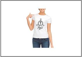 e2256ed41f Camisa Panico Frases - Calçados, Roupas e Bolsas Branco com o Melhores  Preços no Mercado Livre Brasil
