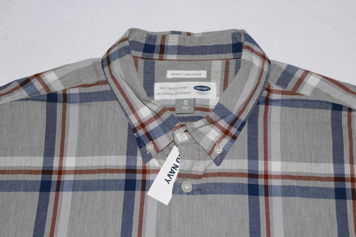 7e7fcb3216f Camisa Para Caballero Old Navy Manga Larga A Cuadros -   490.00 en ...