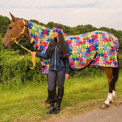 camisa para caballo estampado rompecabezas envío gratis