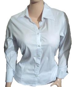 estilo único salida para la venta proporcionar un montón de Camisa Para Dama Blanca Manga Larga