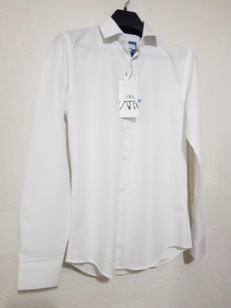 Zara Camisa Para Hombres Nuevo Con Etiquetas Talla M   eBay