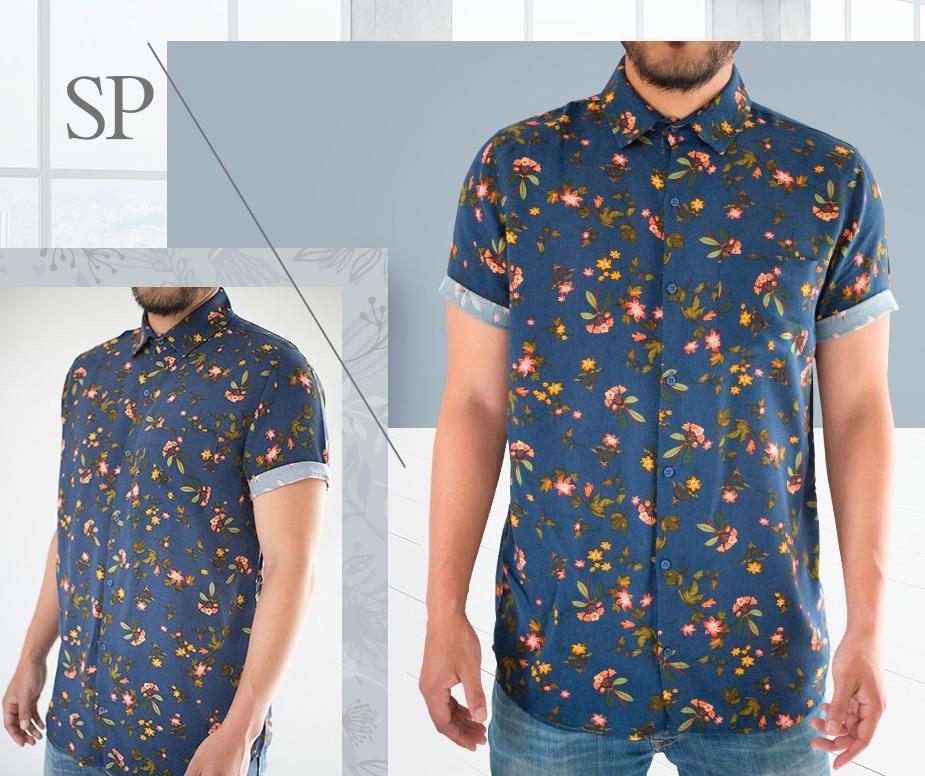 4a7e5a5163349 camisa para hombre verano summer 2018 talla s - m exclusivo. Cargando zoom.