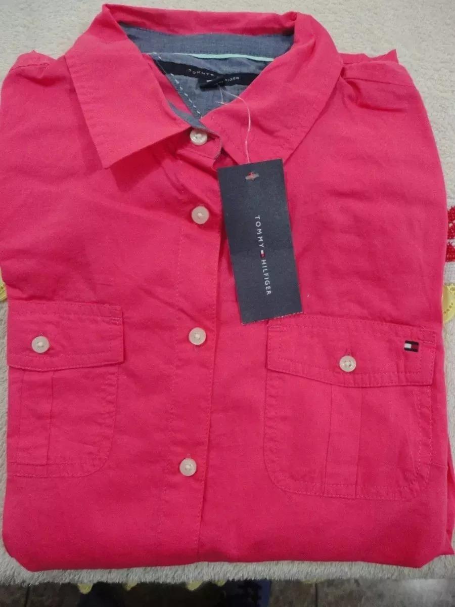 6e961e99a21 camisa para mujer marca tommy hilfiger importado de usa. Cargando zoom.