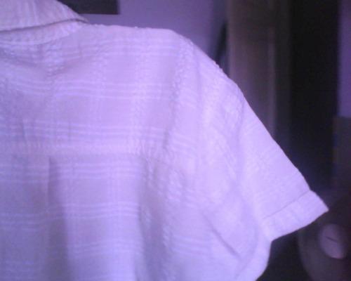 camisa para niño de 1 a 3 años,blanca,con relieve,divina
