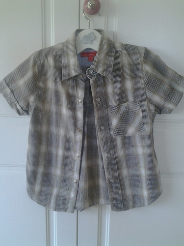 camisa para niño. marca paula cahen d'anvers. impecable!