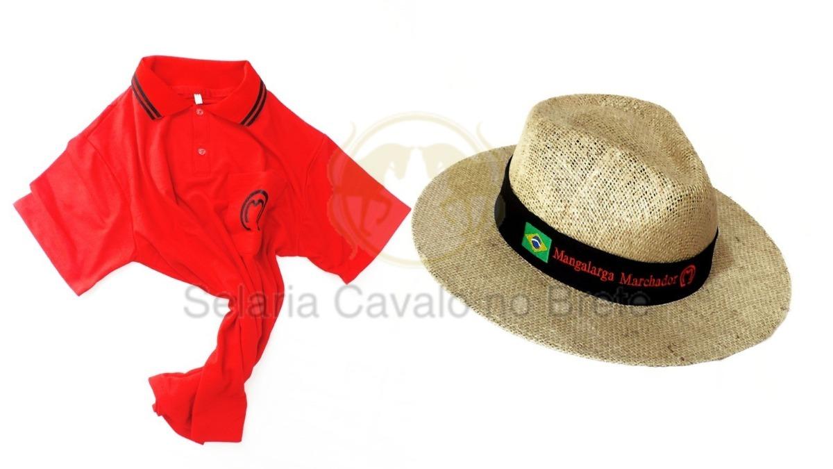 Camisa Para Peão Country Chapeu De Juta Mangalarga - R  119 809f45d8116