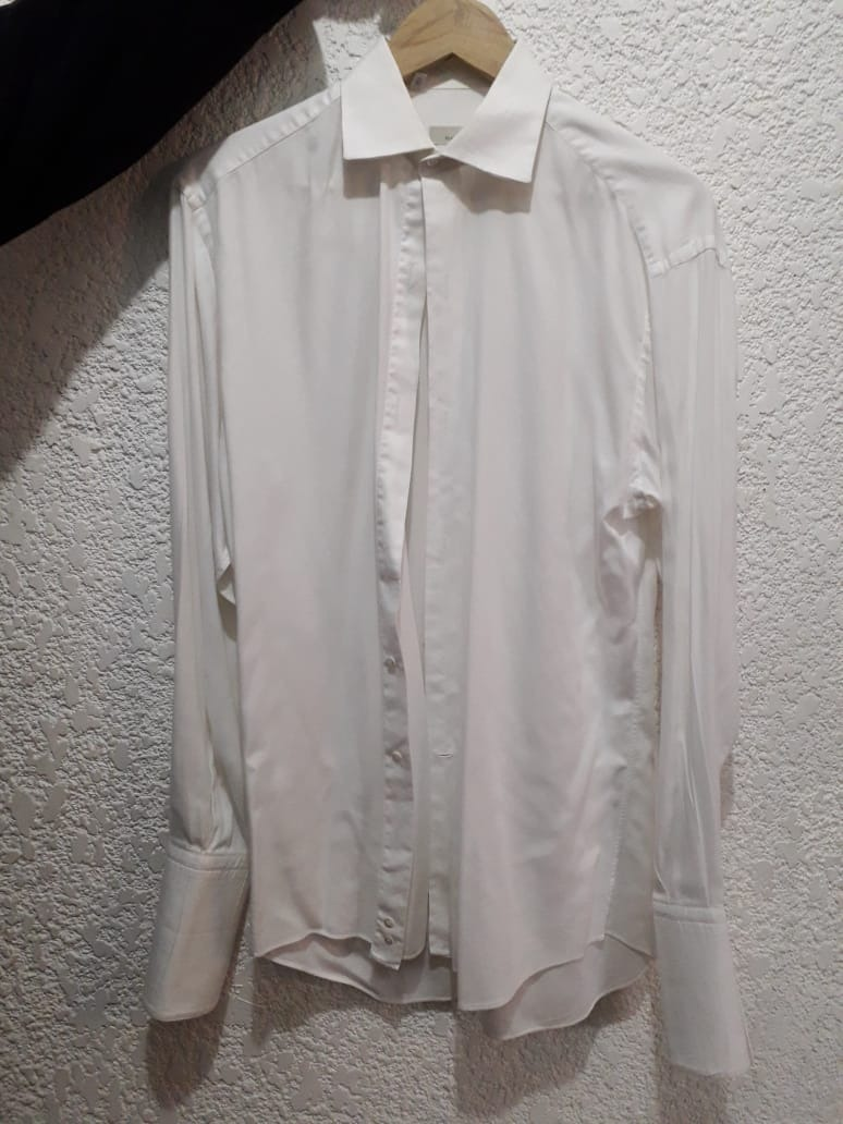 61f9abd52ce9a Camisa Para Smoking Ermenegildo Zegna Talla 15 -   375.00 en Mercado ...
