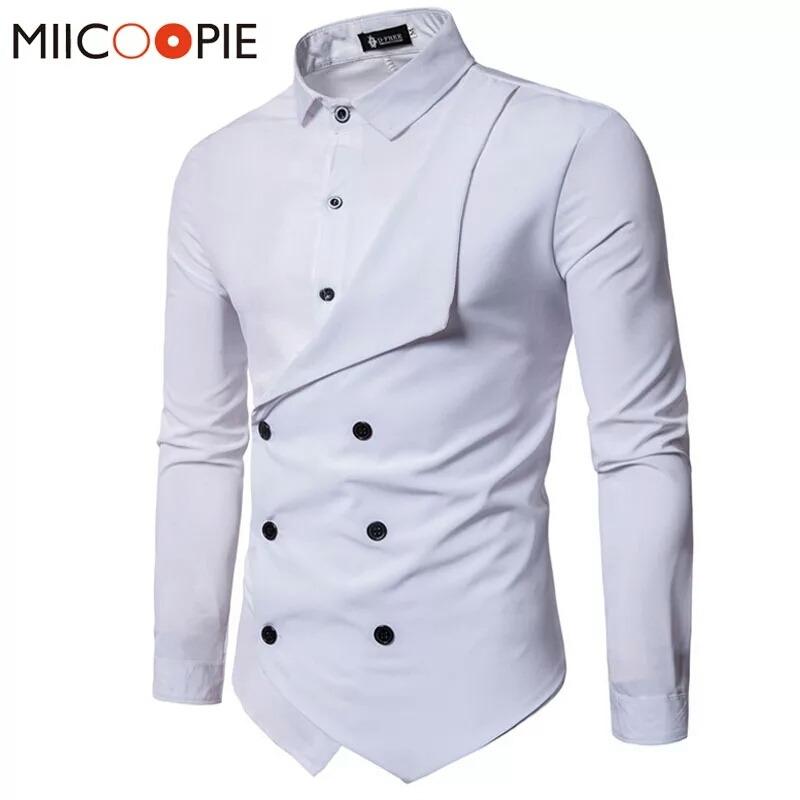 camisa para vestir para caballero corte slim fit. Cargando zoom. e6e03956fce