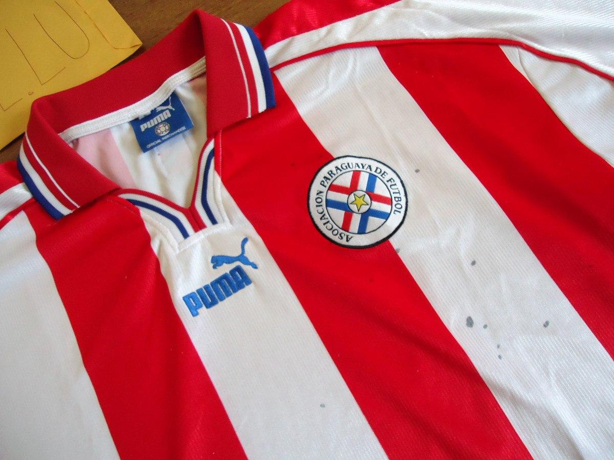 2db32ccbd0a39 camisa paraguai puma listrada oficial seleção paraguaia. Carregando zoom.